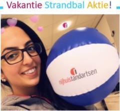 Nijhuis Tandartsen Enschede Strandbal Aktie Tandarts